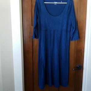 Toad and Co. Blue Dress